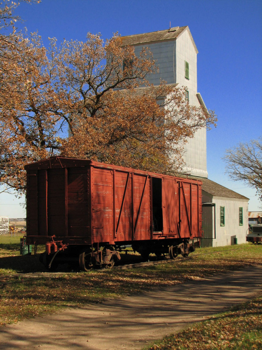 CPR Boxcar 119462 at the Museum