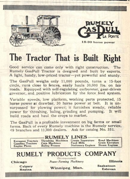 Gas Pull Ad