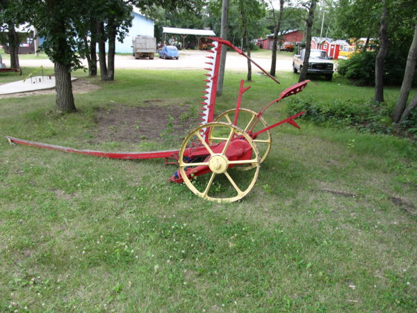Tudhope Anderson Company Horse Mower at the Museum