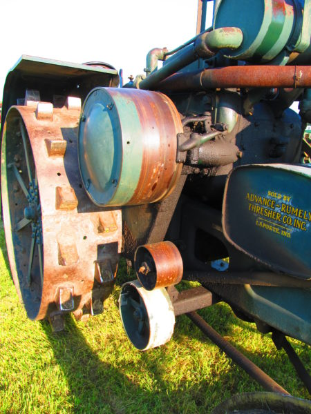 Rumely Type M right side