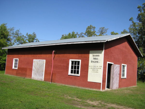 Souris Mill Building