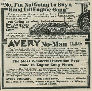 avery plow ad