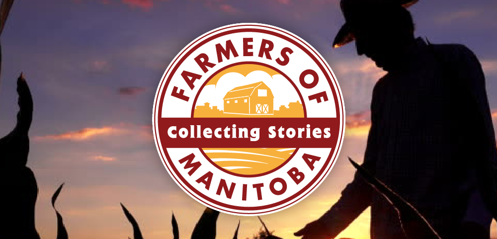 Farmers of Manitoba Logo and Farmer Silhouette