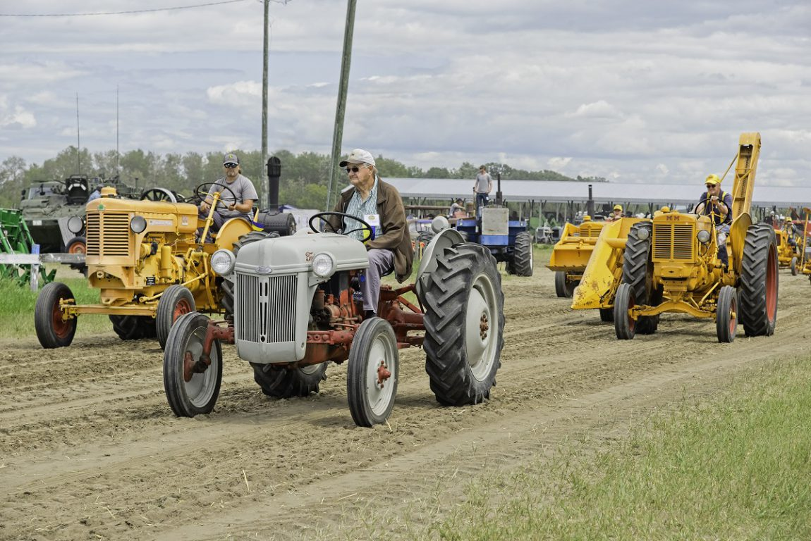 Tractors in MTRS Parade